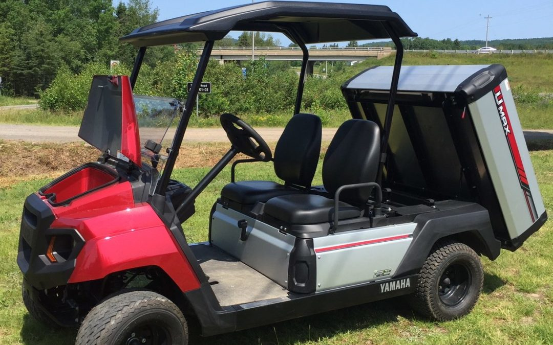 2019 Yamaha Umax Two Utility Vehicle