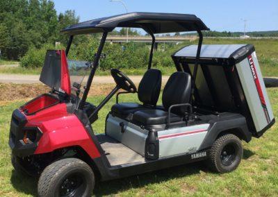 2019 Yamaha Umax Two Utility Vehicle