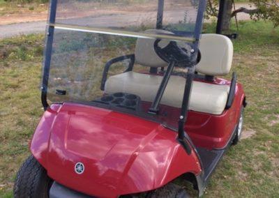 2010 Yamaha Drive Garnet Gas Golf Car