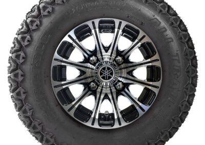 10″ 12-Spoke J-Series All-Terrain Alloy Wheel Assembly