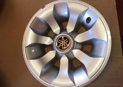 Yamaha Silver Wheel Cover, 8 inch