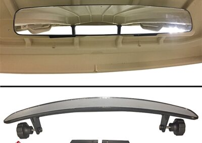 "GTW 17"" Convex Mirror Kit with Universal Bracket"
