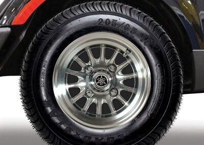 10″ 14-spoke V-Series Wheel with Kenda Loadstar 205/65-10 DOT Tire